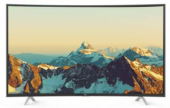 "Телевизор LED TCL 48"" L48P1FS черный/CURVED/FULL HD/60Hz/DVB-T/DVB-T2/DVB-C/USB/WiFi/Smart TV (RUS)"